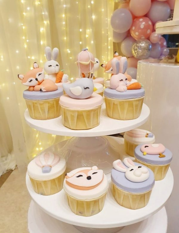 adorable animal cupcakes