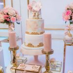 Elegant Pink and Gold Princess Baby Shower