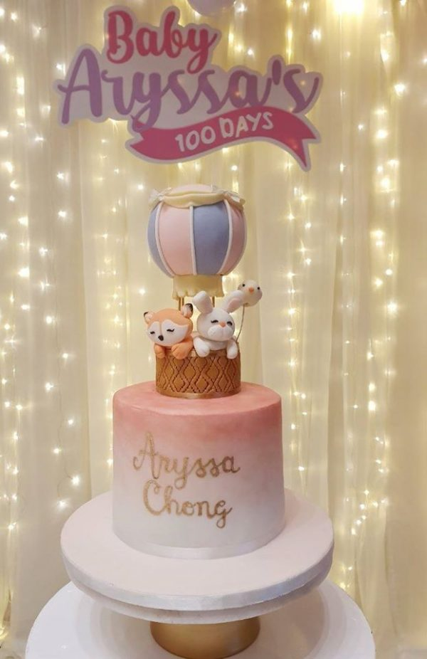fox and bunny cake toppers