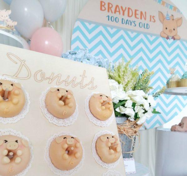 piggy donuts