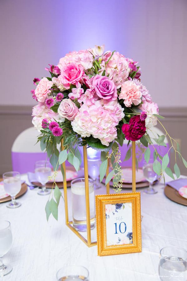 stunning flower bouquet centerpiece