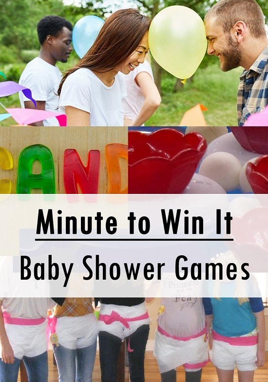 Fun Minute to Win It Co-ed Baby Shower Games