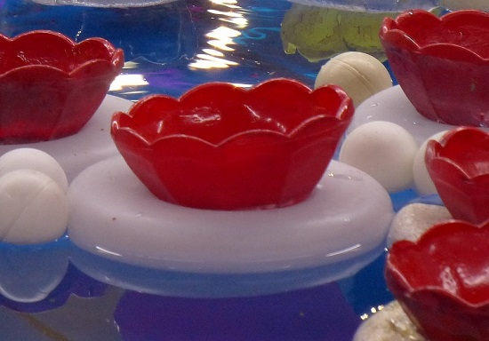 Ping Pong Bounce Minute to Win It coed baby shower game