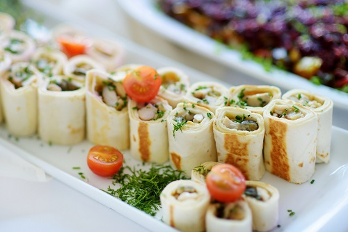 healthy toasted wrap sandwiches