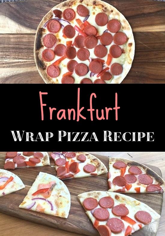 frankfurt Wrap Pizza Recipe
