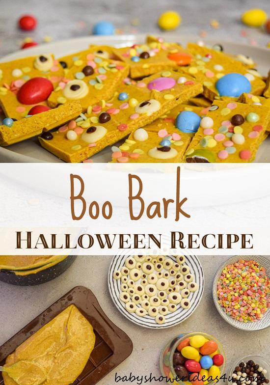 Fun for Kids Halloween Eyeballs Boo Bark Recipe