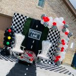 "Drivers, Start your Engines! ""Racing By"" Baby Shower"