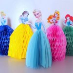 DIY Easy Paper Tissue Princess Dresses