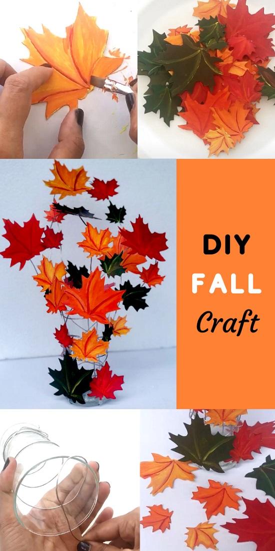 DIY Fall Home Decoration Craft