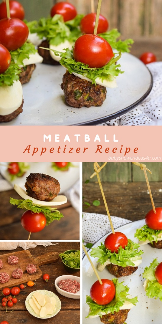 Meatball Appetizer Recipe