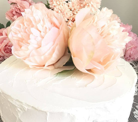beautiful flower topper