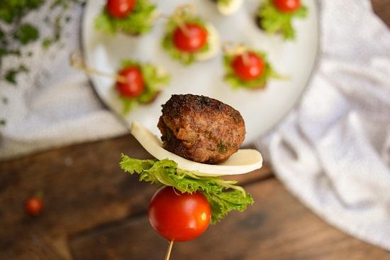 hamburger appeitizer