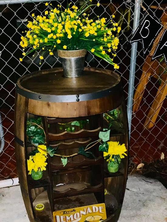 lemonade barrel