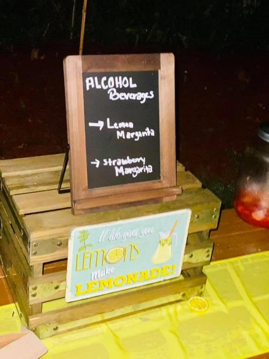 make your lemonade station