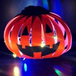 DIY How to Make Paper Pumpkin Lantern Craft