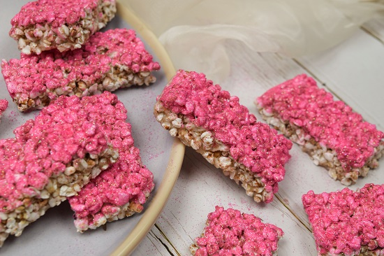 Buckwheat Krispies treats
