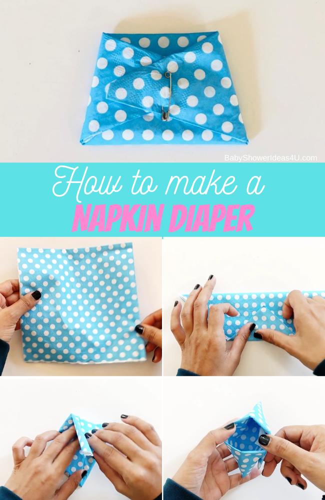 Making a Napkin Diaper