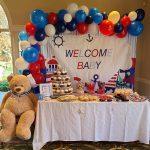 Ahoy Teddy Bear Baby Shower Party