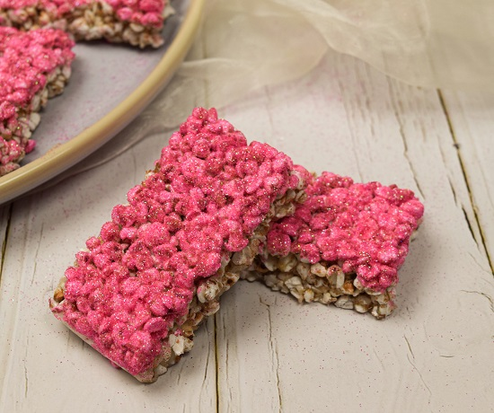 healthy pink treats