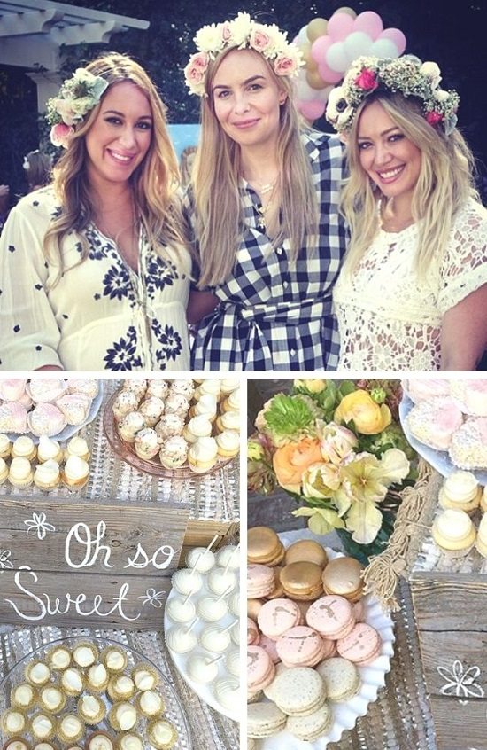 Hilary Duff Sister Celebrity baby shower photos