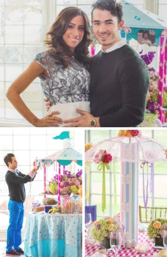 Kevin and Danielle Jonas Celebrity baby shower photos