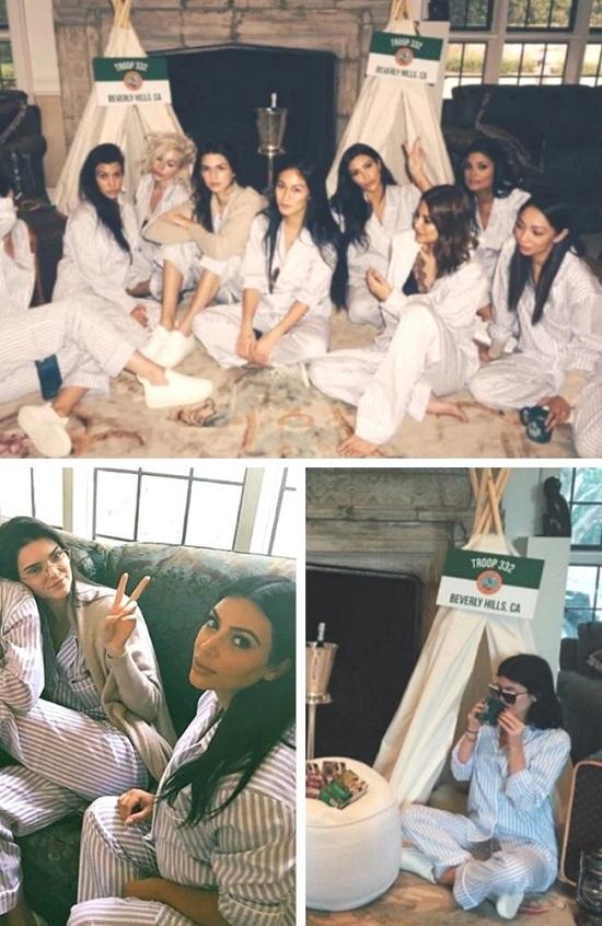 Kim Kardashian Celebrity baby shower photos