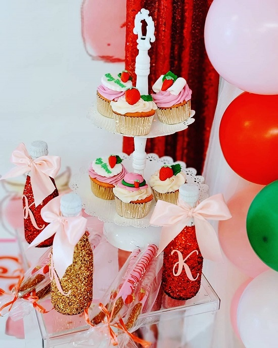 Strawberry Shortcake Baby shower food