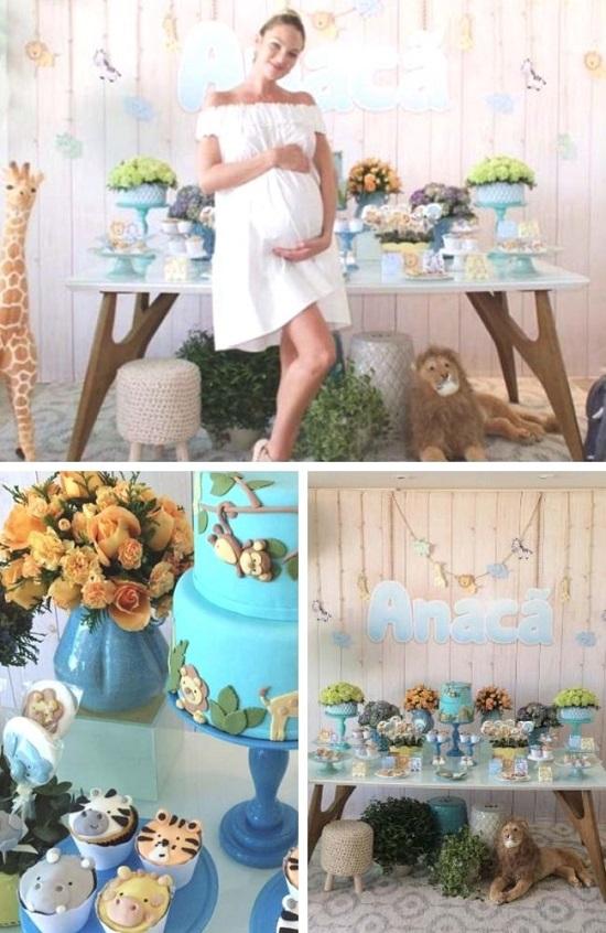 candice swanepoel Celebrity baby shower photos