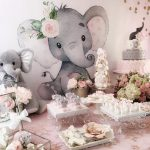 Elephant Baby Shower Decorations and Party Favors