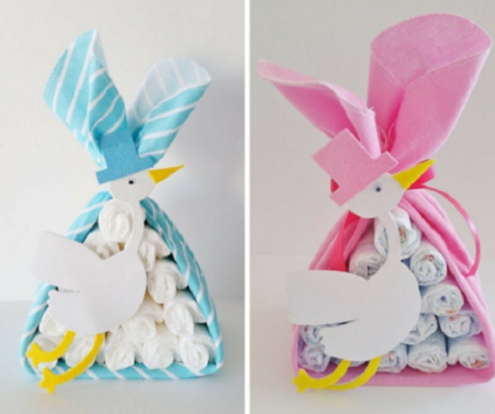 special delivery stork cakes
