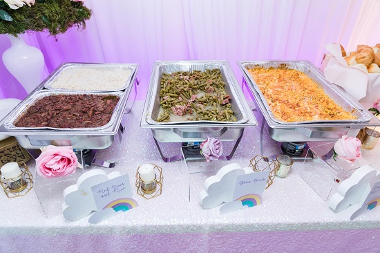 various food menu