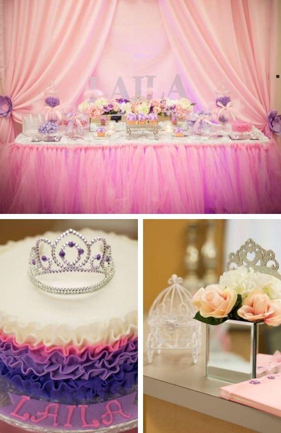 Pink Tutu Princess Baby Shower decoration