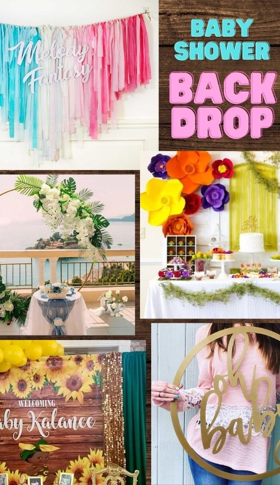 Popular and Easy Baby Shower Backdrop Ideas