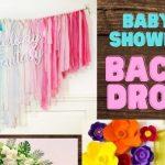 Popular Baby Shower Backdrop Ideas