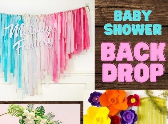Popular and Easy Baby Shower Backdrops