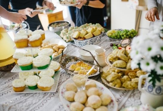 Baby Shower Table Buffet Ideas