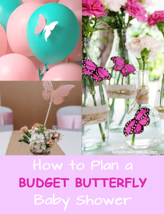 How to Plan a Budget Butterfly Baby Shower