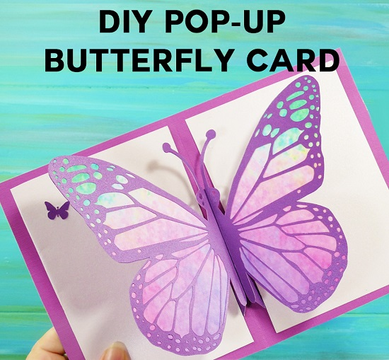 Pop up Butterfly Card