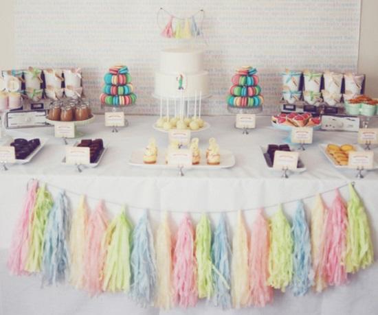 Pretty-Pastel-Baby-Shower-Dessert-Table-Setup