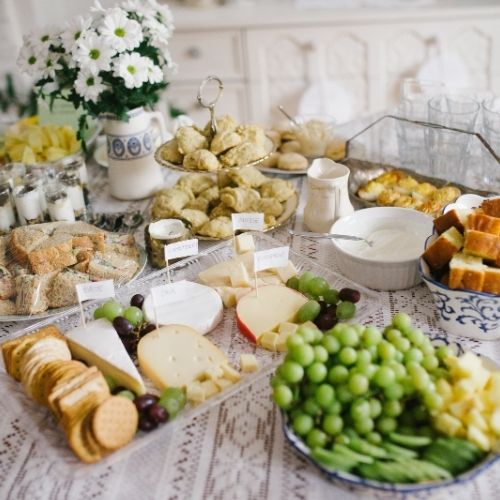 baby shower brunch foods