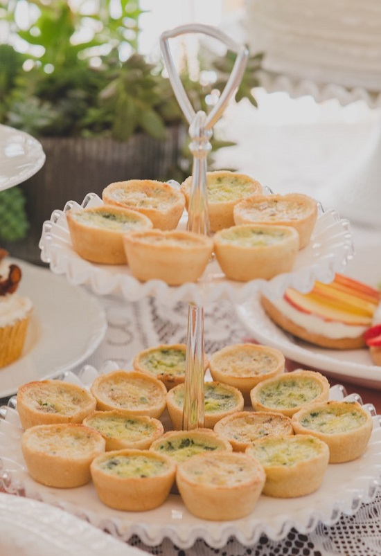 finger Foods to Serve at a Baby Shower