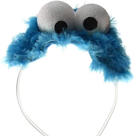 Cookie Monster Adult Costume Headband